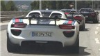 Đội hình sáu siêu xe Porsche 918 Spyders bị tóm ở Monaco
