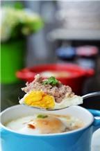Biến tấu mới cho món trứng đúc thịt siêu ngon