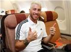 Sergio Ramos phá cách với diện mạo mới