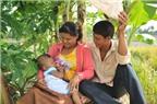 Giúp vợ nuôi con bằng sữa mẹ