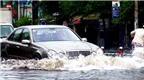 Những điều cần biết khi đi xe trong điều kiện ngập nước
