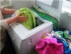 Cách dùng máy giặt tiết kiệm điện
