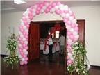 Kinh nghiệm làm cổng bóng cưới