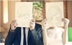 Ảnh cưới đẹp với phong cách vẽ chibi đáng yêu