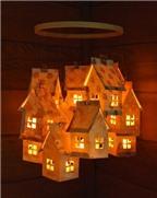 Khéo tay làm đèn lồng ngôi nhà độc đáo cho bé vui đón Trung Thu