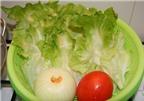 Salad xà lách trộn thịt bò thanh mát ngon miệng