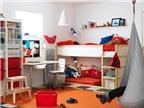 Bố trí giường riêng cho hai con trong cùng một phòng