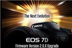 Firmware Canon 7D có nhiều nâng cấp quan trọng