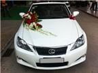 Kinh nghiệm chọn mẫu hoa cho xe cưới
