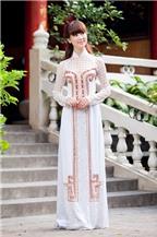 Mẹo chọn áo dài cho cô dâu mũm mĩm