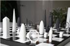 Bàn cờ vua với những kiến trúc nổi tiếng