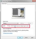 Kiểm soát cách Windows khóa và tiết kiệm năng lượng