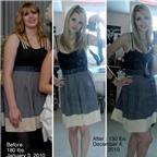 Chùm ảnh: Những cô nàng trở nên cực xinh sau khi giảm cân