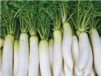 Món ngon từ củ cải  trắng
