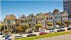 Dãy nhà sắc màu đại diện cho phong cách kiến trúc Victoria ở San Francisco