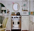 Gương treo trong bếp có phạm phong thủy?