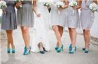 Các cách kết hợp giày cưới phù dâu