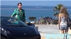 Chơi khăm gái xinh bằng siêu xe Lamborghini