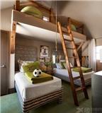 Cách thiết kế giường tầng bắt mắt