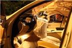 Siêu mẫu Võ Hoàng Yến bị nạn cùng xe BMW