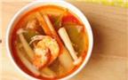Cách nấu canh Tom Yum thật đơn giản