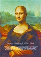 Nàng Monna Lisa đầu trọc hút sự quan tâm về ung thư
