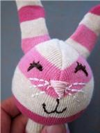 2 cách làm thỏ bông xinh yêu từ bít tất