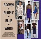 Phối màu hoàn hảo cho phong cách thời trang mùa Đông