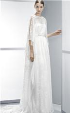 Váy cưới chữ A cách tân hiện đại