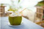 Công dụng làm đẹp của nước dừa