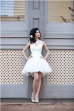 3 kiểu váy cưới ngắn chụp ảnh được yêu thích