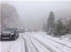 Kinh nghiệm lái xe trong băng tuyết không bị trơn trượt