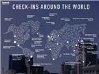 Những địa điểm được check-in Facebook nhiều nhất thế giới