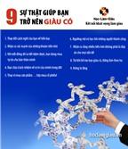 9 sự thật giúp bạn trở nên giàu có