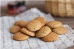 Nhâm nhi bánh quy bơ đậu phộng ngon tuyệt