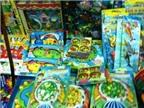 Loạn đồ chơi trẻ em nguy cơ gây hại sức khỏe