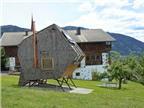 Nhà gỗ độc đáo trên thảo nguyên