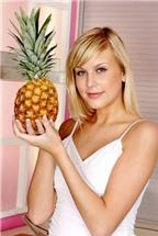Xinh đẹp nhờ 4 tác dụng của trái dứa