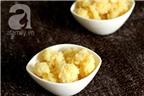 Xôi đậu xanh dẻo mềm cho bữa sáng ấm bụng