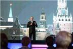 Putin có hai bài phát biểu mừng năm mới