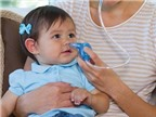 Chăm sóc con những ngày bị viêm mũi