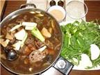 Nầm lợn, thịt chó tẩm hương liệu ra lẩu dê đặc sản