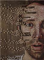 Tròn mắt với những bức chân dung và tác phẩm nghệ thuật được làm từ ốc vít