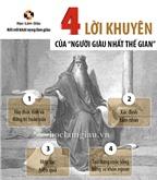 """4 lời khuyên của """"Người giàu nhất thế gian"""""""