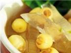 Chè hạt sen nha đam bổ dưỡng