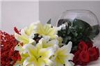 """""""Mẹo nhỏ"""" giúp chọn, cắm hoa Tết tươi lâu, nở đều"""