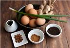 Trứng trà, món ăn Tết của người Hoa