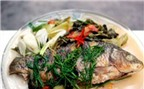 Cá chép om dưa món ăn được nhiều người ưa thích