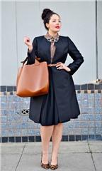 Ngắm phong cách chủ nhân blog 'Girl with Curves'