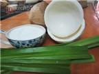 Cách làm mứt dừa có vị y chang kem cốm